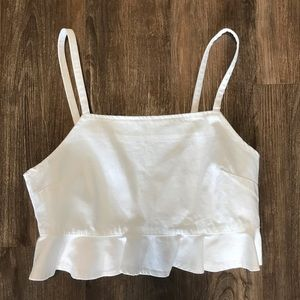 Tops - White tank top